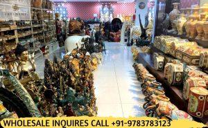 brass handicrafts in Wholesale showroom jaipur rajasthan
