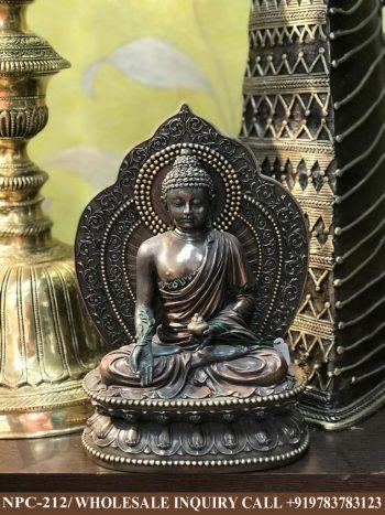 Pardi Buddha Siiting on Lotus, Gautam Buddha Statue Manufacturer