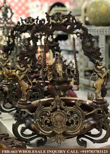 brass statues online,brass statues manufacturers, brass statues wholesale, brass idols near me, Corporate Gifts,Urli,festive décor,statue manufacures