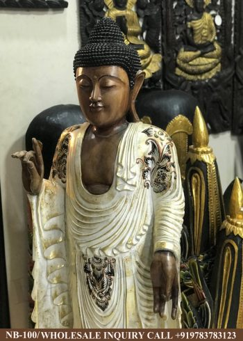 Wooden statues online,Wooden statues manufacturers, Wooden statues wholesale, Wooden idols near me, Corporate Gifts,Buddha ,festive décor,statue manufacures