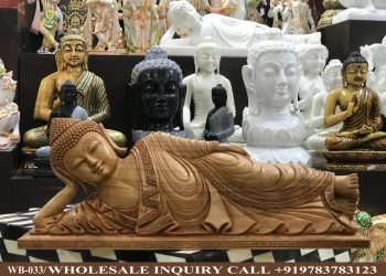 Wooden statues online,Wooden statues manufacturers, Wooden statues wholesale, Wooden idols near me, Corporate Gifts,Buddha,festive décor,statue manufacures